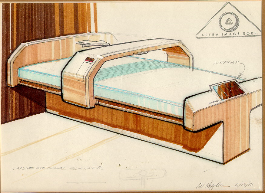 Ray cole 39 s star trek museum page for Concept beds